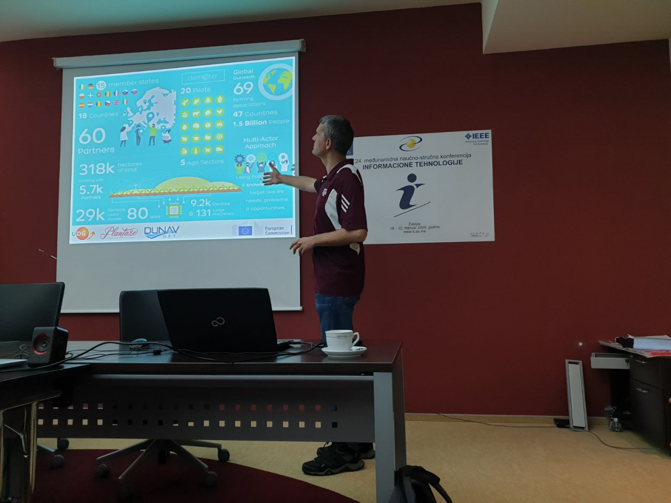 DEMETER presented at several European Conferences