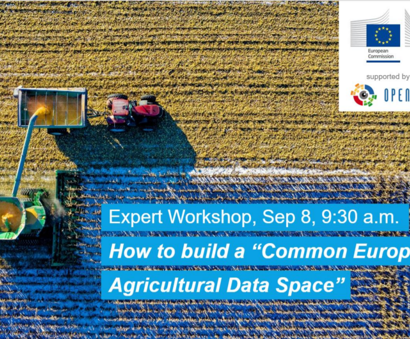 DEMETER participates in European agricultural data space workshop