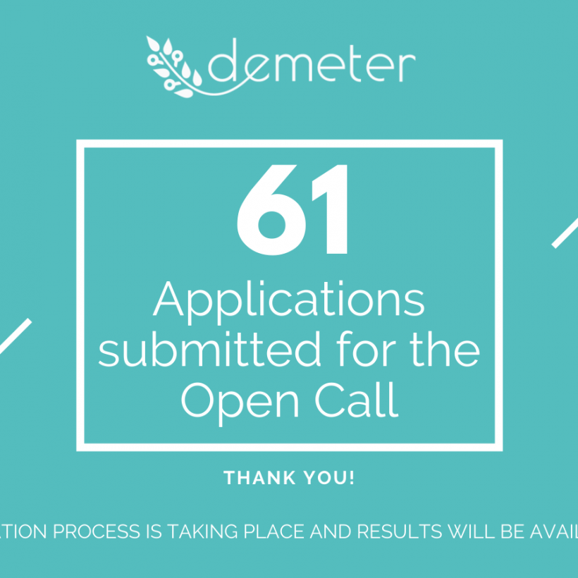DEMETER Open Call Applications