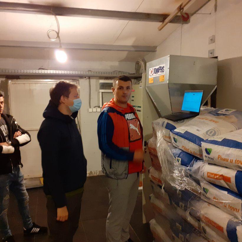 Poultry Farm Pilot Installation in Montenegro for DEMETER