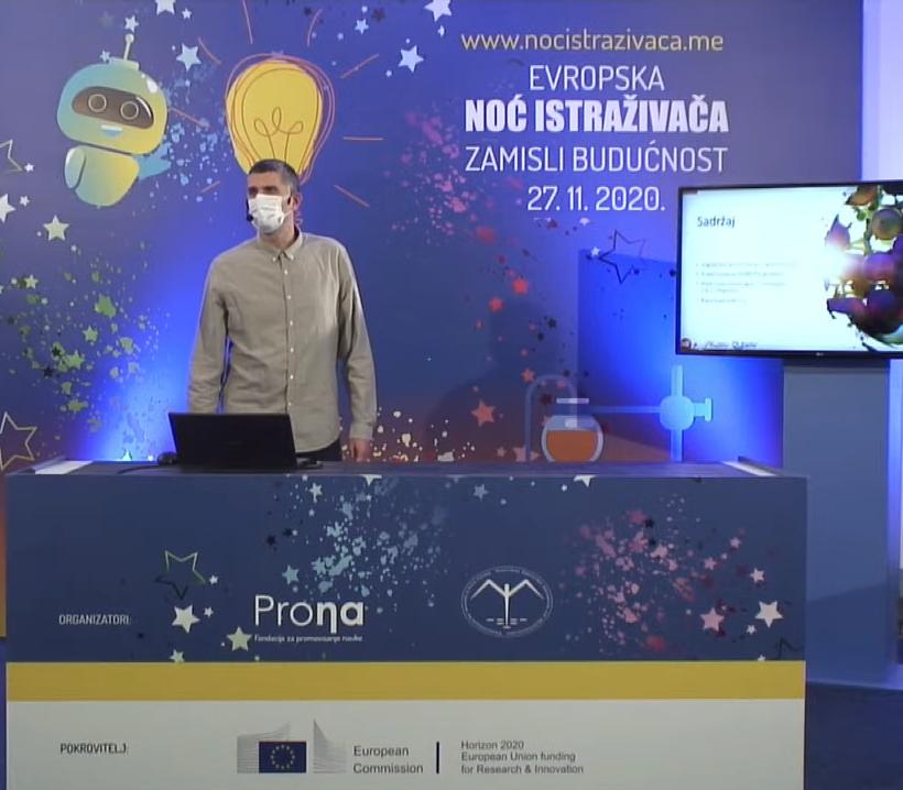 DEMETER presented at European Researchers' Night 2020