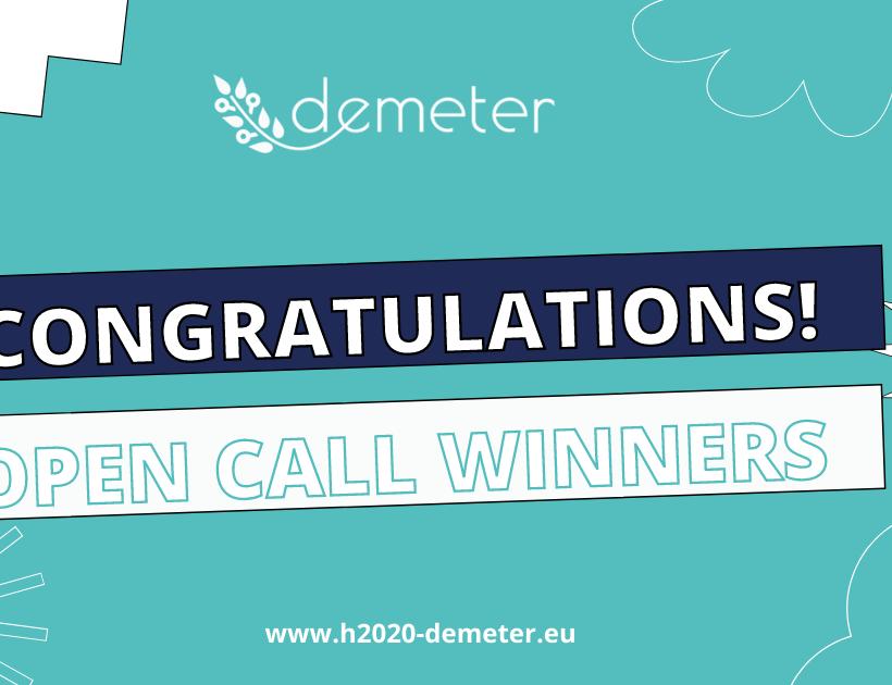 Open Call Winners announced