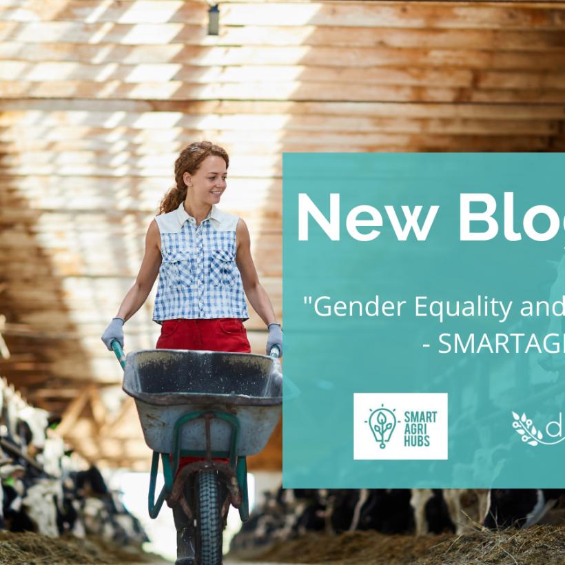 SmartAgriHubs: gender equality and smart farming